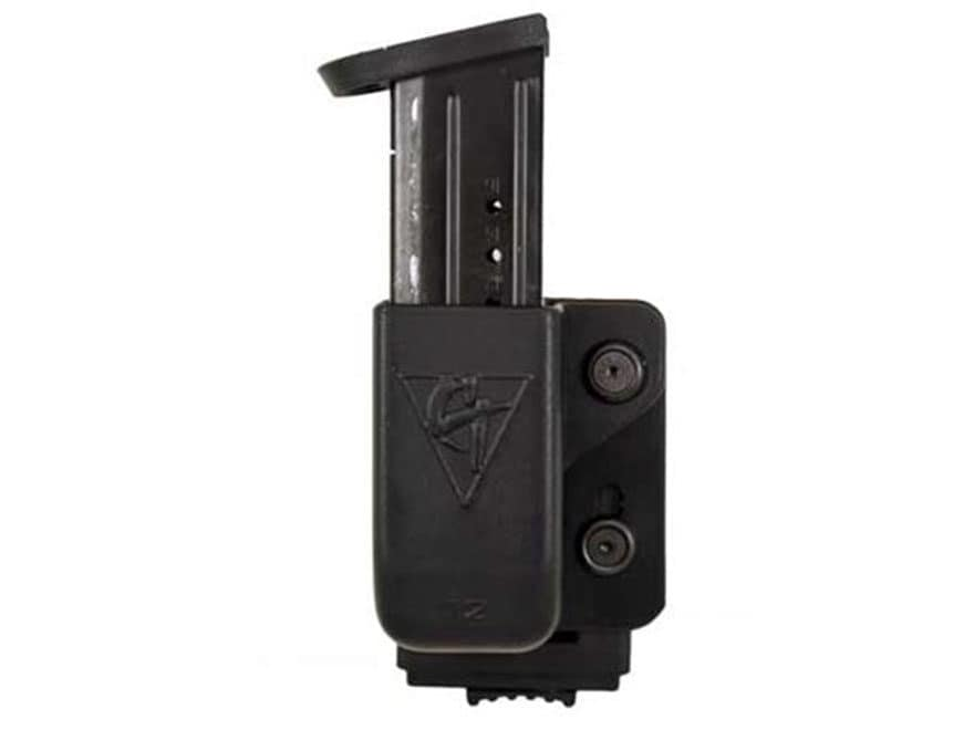Comp-Tac Single Magazine Pouch with PLM Clip Kydex Black