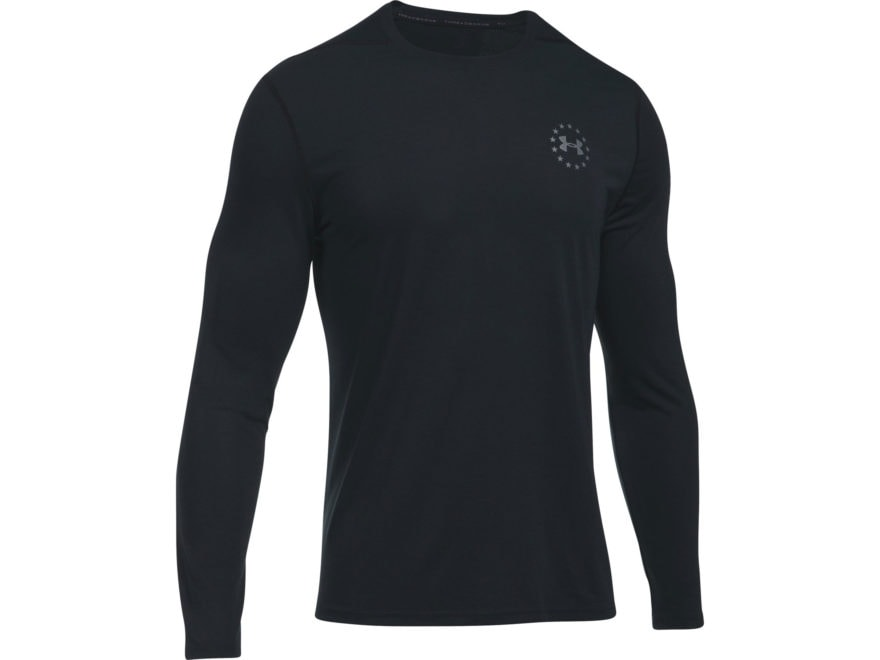 Under Armour Men's UA Freedom Threadborne Siro T-Shirt Long Sleeve Polyester