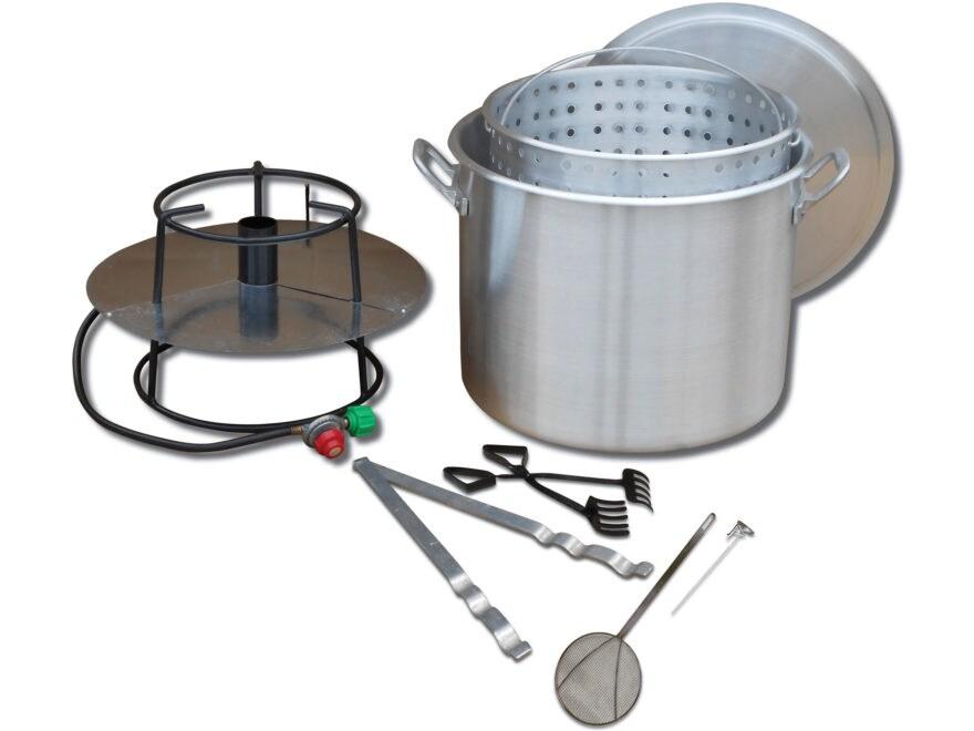 King Kooker 80 Qt Propane Boiler with Basket