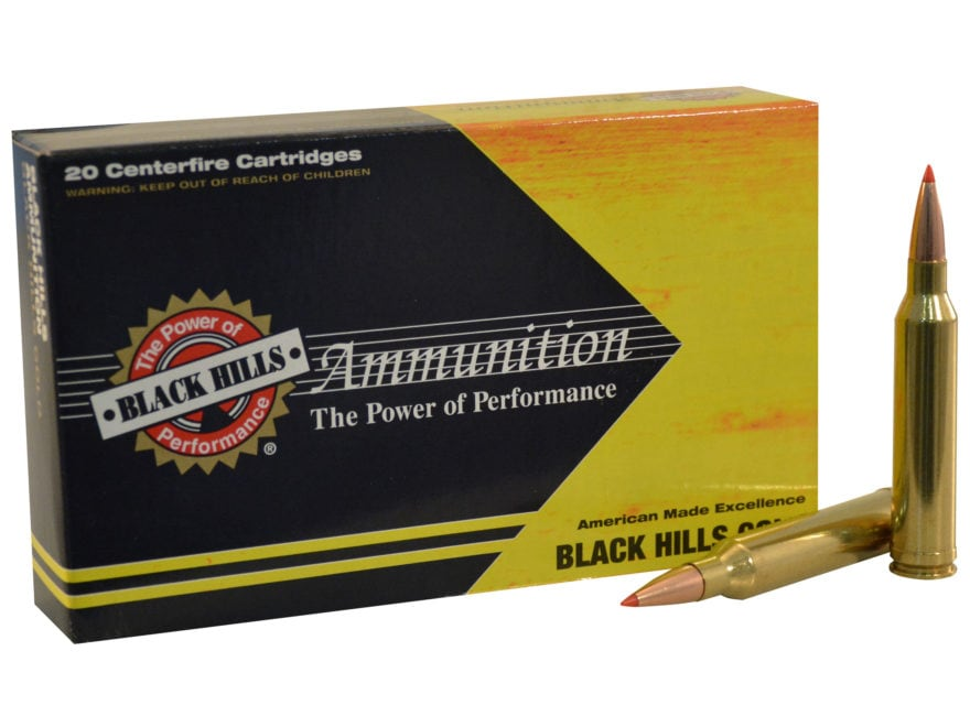Black Hills Gold Ammunition 7mm Remington Magnum 139 Grain Hornady GMX Lead-Free Box of 20