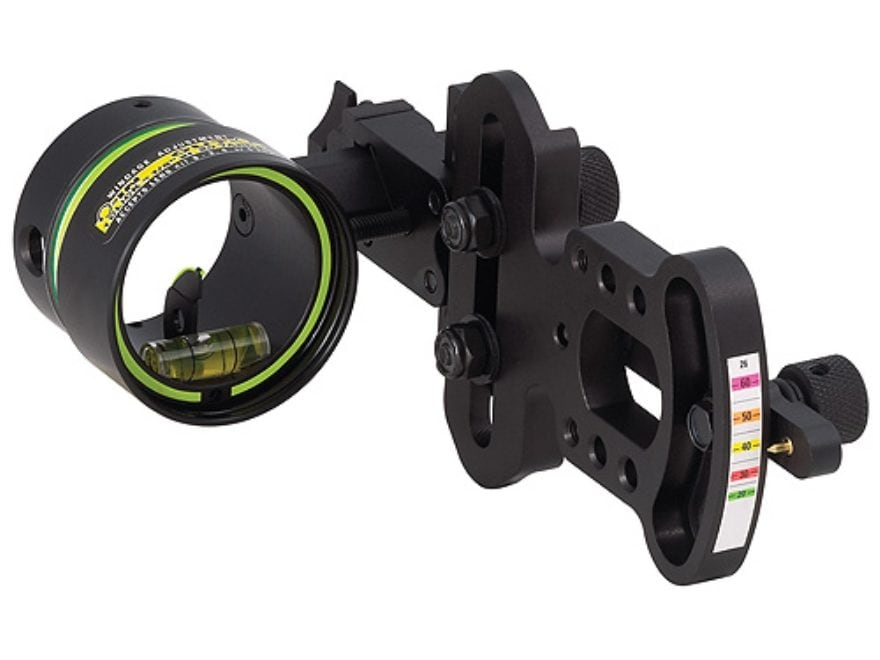 "HHA Sports Optimizer Lite OL-5519 1-Pin Bow Sight .019"" Pin Diameter Right Hand Aluminu..."