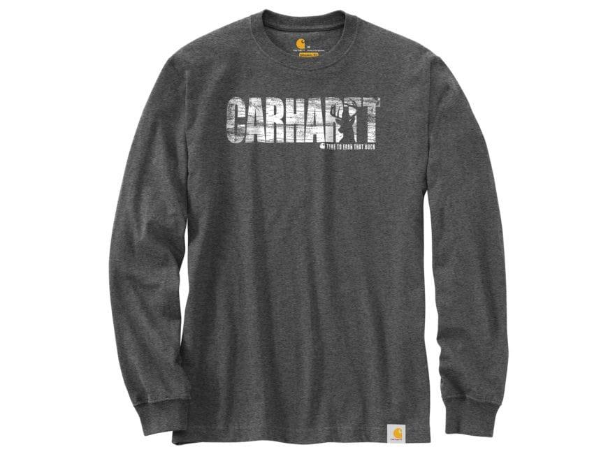 Carhartt Men's Workwear Hunting Graphic T-Shirt Long Sleeve