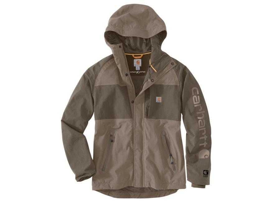 Carhartt Men's Storm Defender Angler Waterproof Jacket Nylon