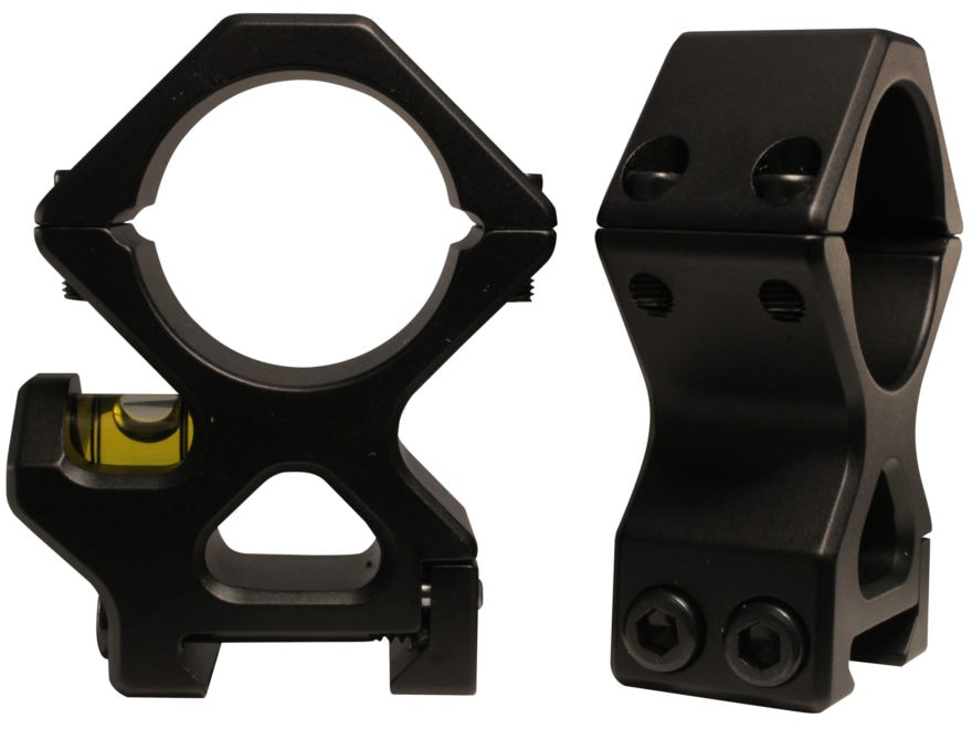 Precision Hardcore Gear Black Ops AR Picatinny-Style Rings Matte