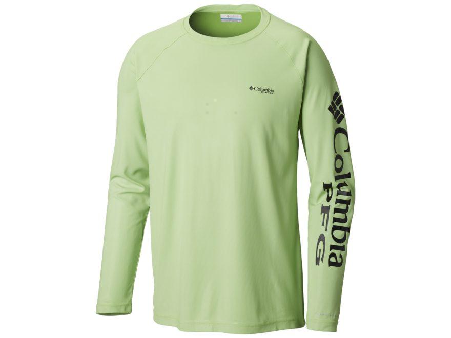 Columbia Men's PFG Terminal Deflector Shirt Long Sleeve Polyester/Elastane