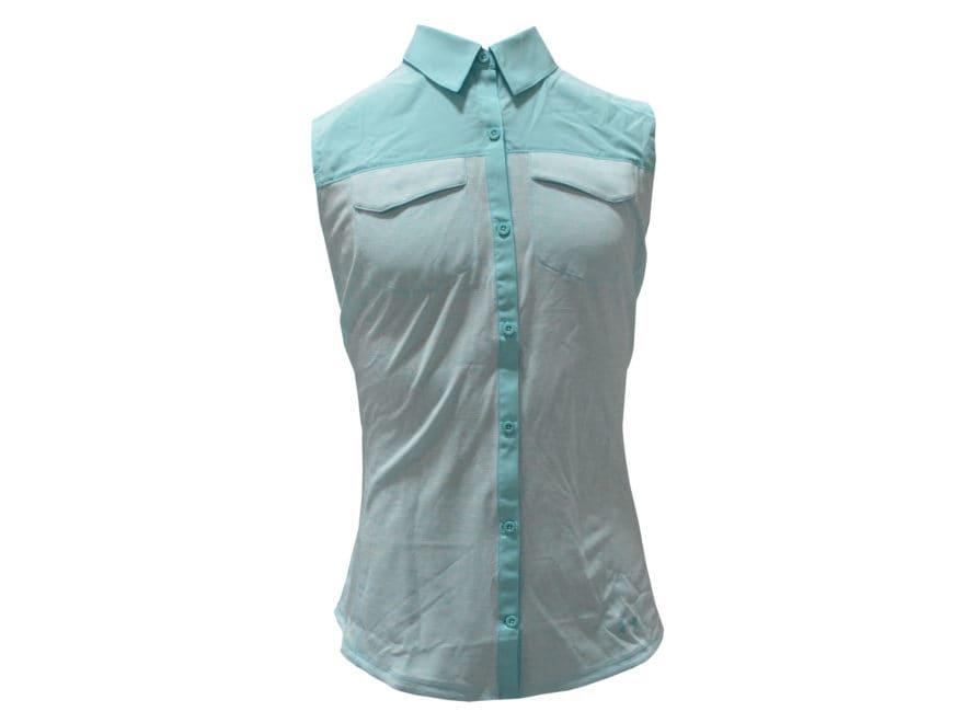 Under Armour Women's UA Threadborne Fish Hunter Hybrid Shirt Sleeveless Polyester