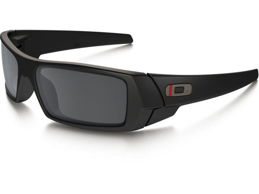 Oakley SI Gascan Thin Red Line Sunglasses Black Frame/Gray Lens