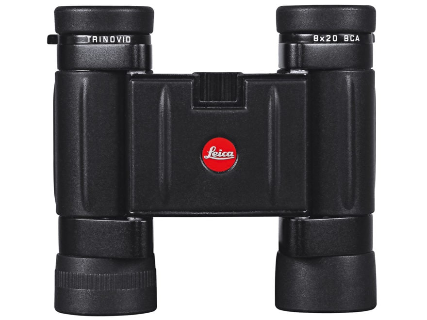 Leica Trinovid BCA Compact Binocular 8x 20mm Roof Prism Black with Case