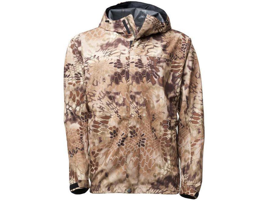 Kryptek Men's Jupiter Waterproof Packable Rain Jacket Polyester