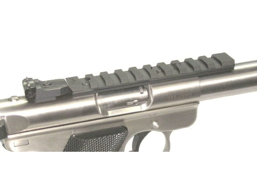 Majestic Arms Picatinny Rail Ruger Mark I, II, III, 22/45 Aluminum Black