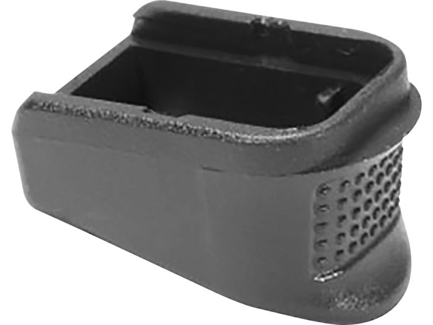 Pachmayr Grip Extender Magazine Base Pad +3 Glock 26, 27, 33, 39 XL Polymer Black Packa...
