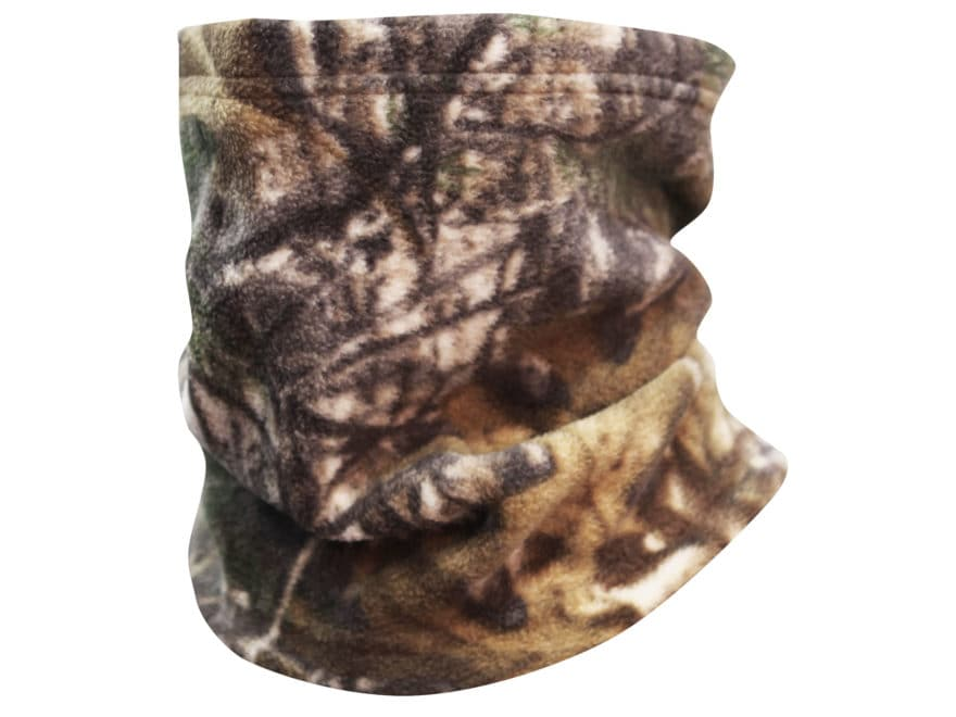 Camouflage fleece neck gaiter
