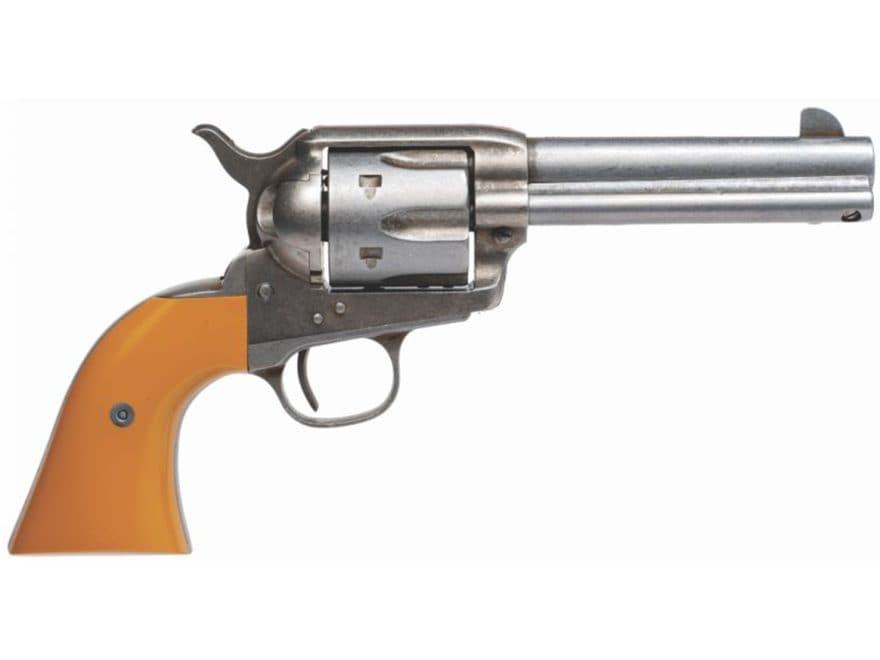 """Cimarron Rooster Shooter Revolver 45 Colt (Long Colt) 4.75"""" Barrel 6-Round Antique Fini..."""