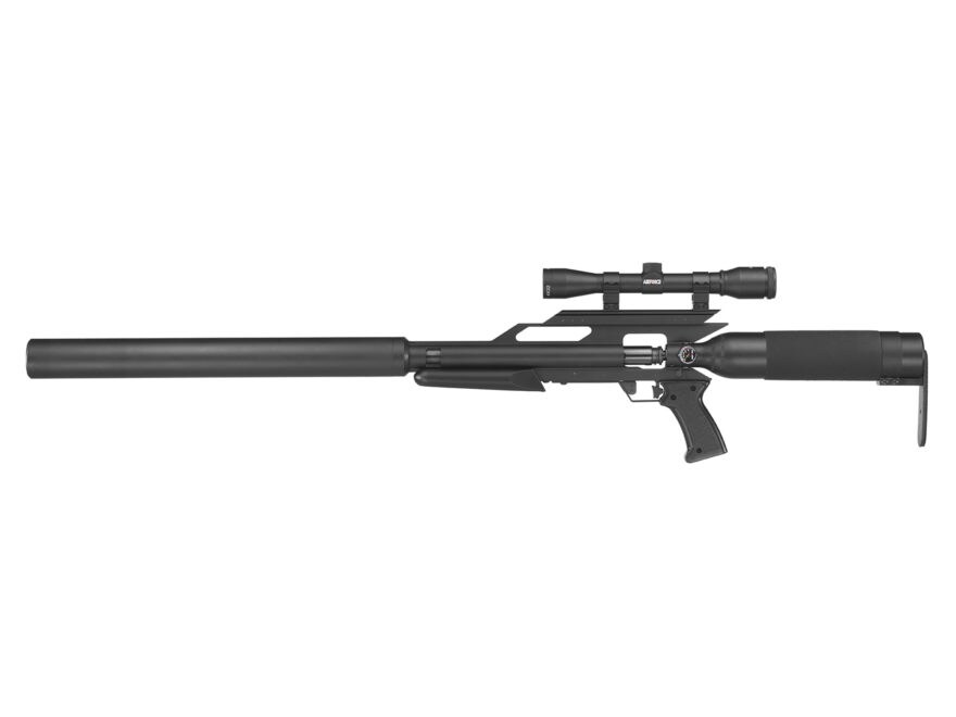 Airforce TexanSS PCP Air Rifle 45 Caliber Pellet Black Synthetic Stock Matte Barrel