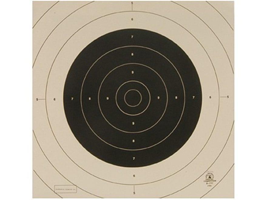 NRA Official International Pistol Targets Repair Center B-19C 25/50 Yard Slow Fire Pape...