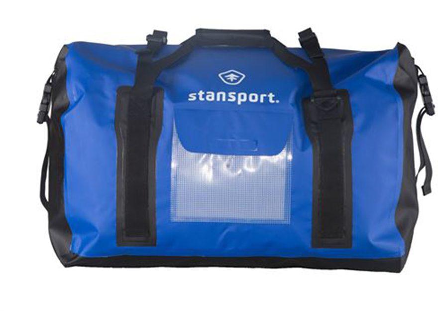 Stansport Waterproof Dry Gear Duffel Bag 65 Liter Blue