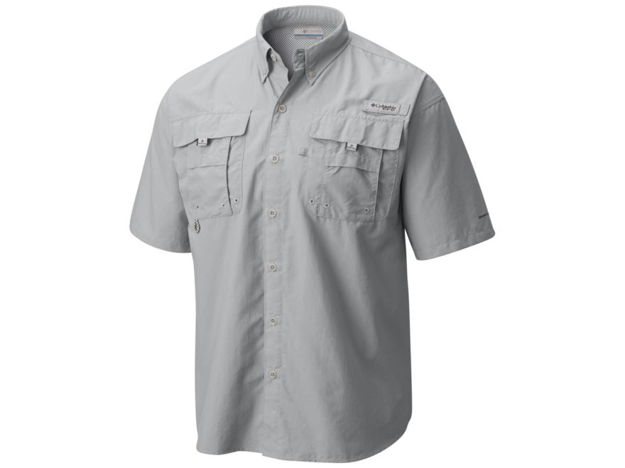 79870de9dac Columbia Men's PFG Bahama II Button-Up Shirt Short Sleeve Nylon Cool
