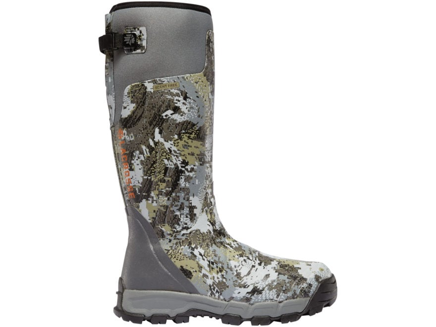 "LaCrosse Alphaburly Pro 18"" Insulated Hunting Boots Rubber Clad Neoprene Men's"