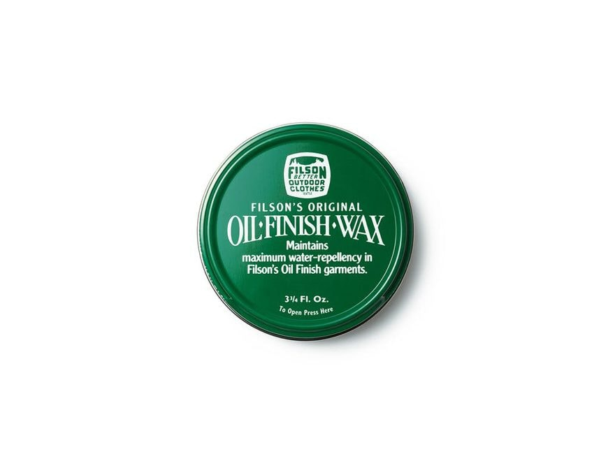 Filson Oil Finish Wax 3.75 Fl. Oz.
