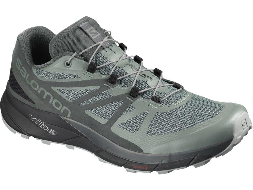 "Salomon Sense Ride GTX Invisible Fit 4"" GORE-TEX Hiking Shoes Synthetic Men's"