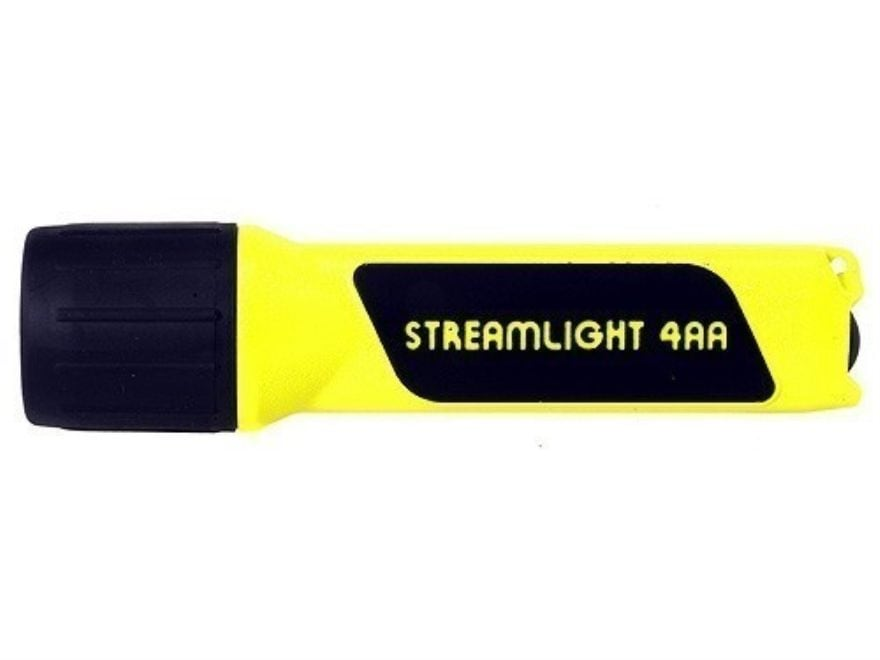 Streamlight Propolymer Flashlight LED with 4 AA Batteries Polymer Yellow