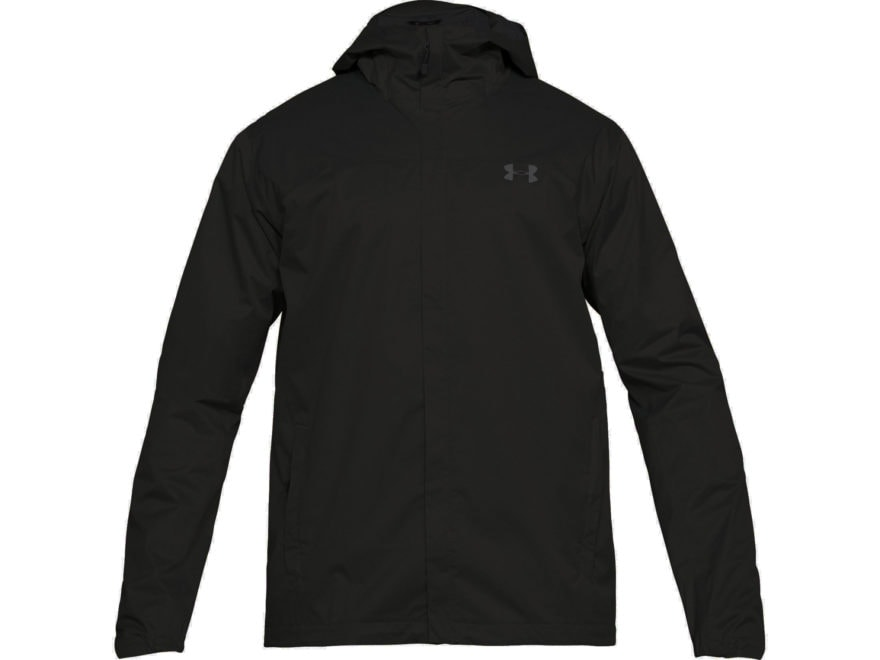 f0d67e1dfd82 Under Armour Men s UA Overlook Waterproof Jacket Polyester Black XL
