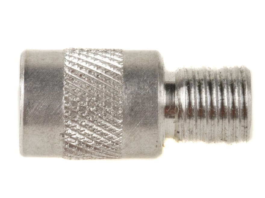 Hoppe's Shotgun Conversion Thread Adapter Converts Outers Rods to 5/16 x 27 Thread