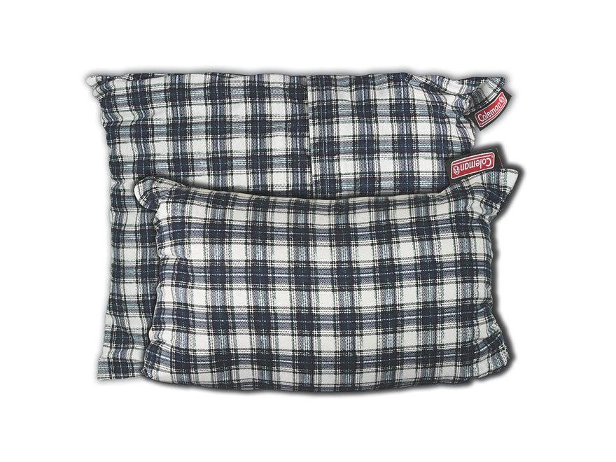 Coleman Fold-N-Go Pillow Flannel Plaid