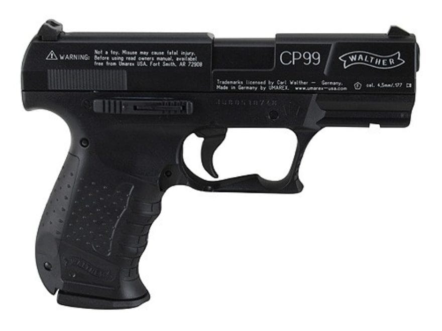 walther cp99 air pistol 177 cal pellet blue mpn 2252201 rh midwayusa com Walther Nighthawk Manual walther cp99 compact user manual