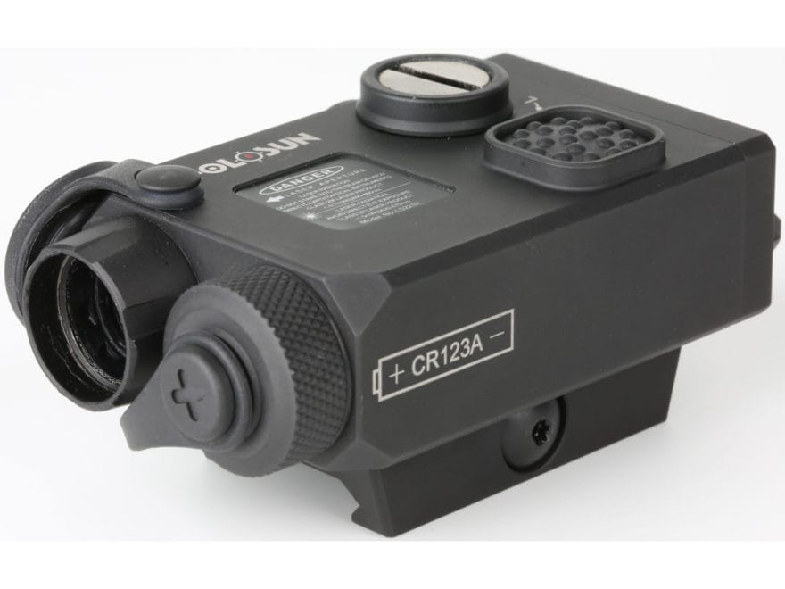 Holosun LS221G&IR Co-aligned Green Laser and Infrared Laser Sight with Weaver-Style Mou...