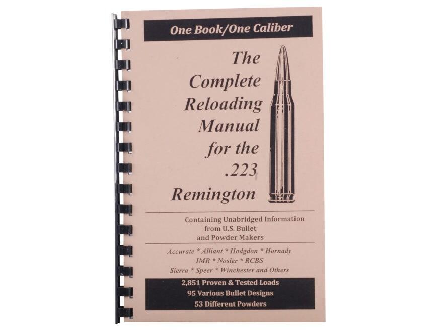"Loadbooks USA ""223 Remington"" Reloading Manual"