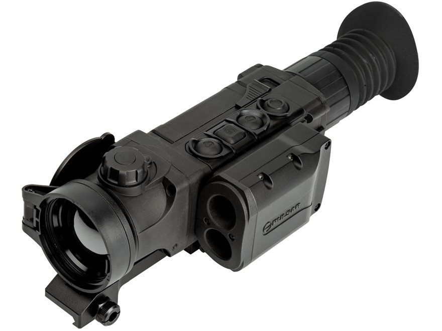 Pulsar Trail LRF XQ50 Thermal Rifle Scope 2.7-10.8x 42mm 384x288 Weaver-Style Mount Matte