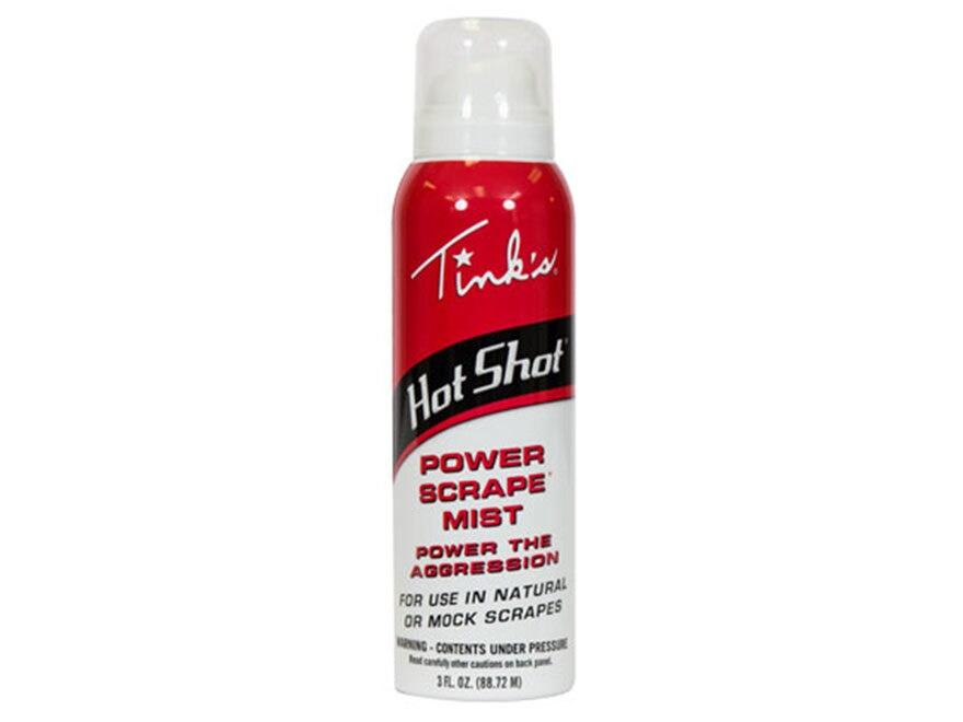 Tink's Hot Shot Power Scrape Starter Mist Deer Scent 3 oz Aerosol
