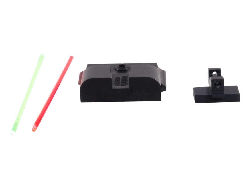 Warren Tactical Sight Set S&W M&P, M&P Compact Sevigny Competition Rear, Fiber Optic Fr...