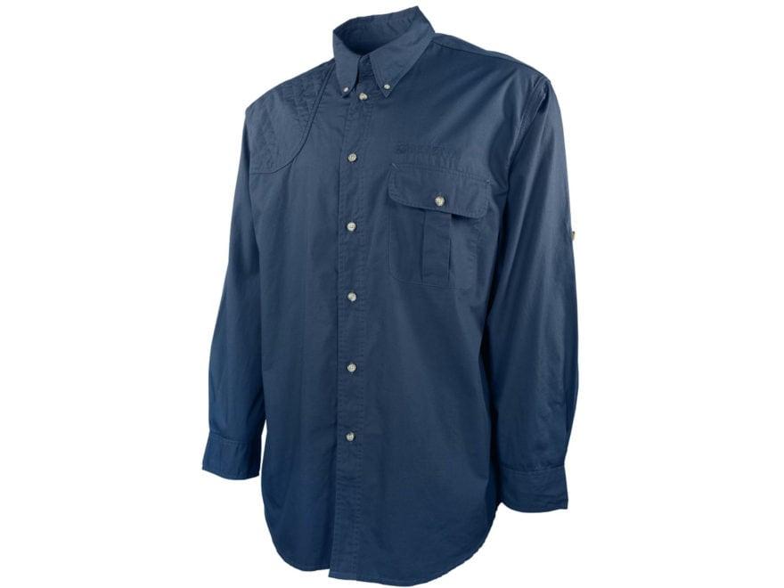 Beretta Men's TM Tech Button-Up Shirt Long Sleeve Cotton