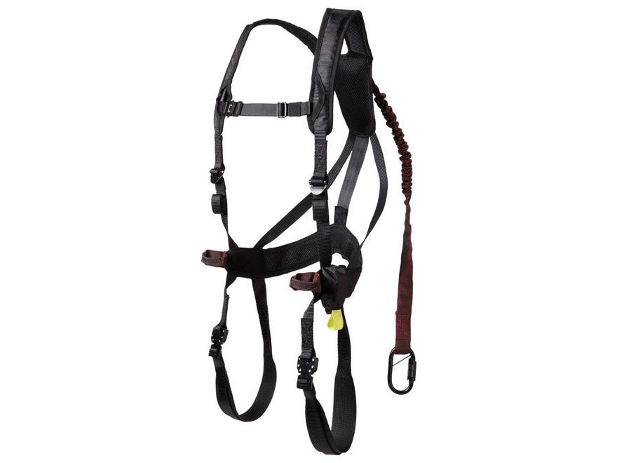 363161 gorilla gear men's g tac air treestand safety harness mpn 77551