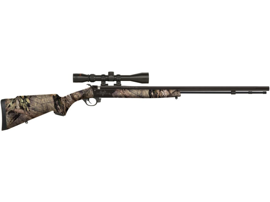 """Traditions Pursuit G4 Ultralight Muzzleloading Rifle with 3-9x40mm Scope 50 Caliber 26""""..."""