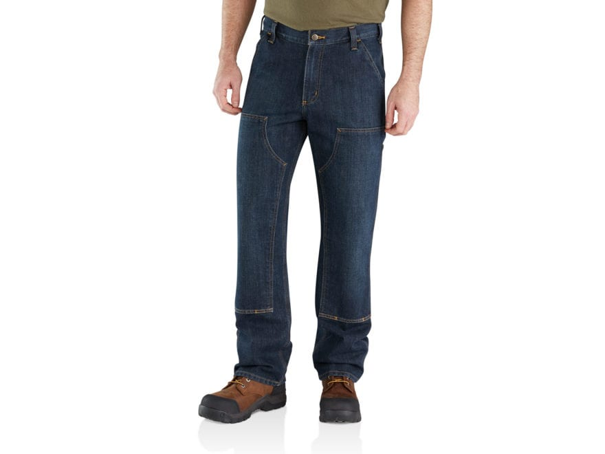 Carhartt Men's Relaxed Fit Holter Double Front Dungarees Cotton/Polyester