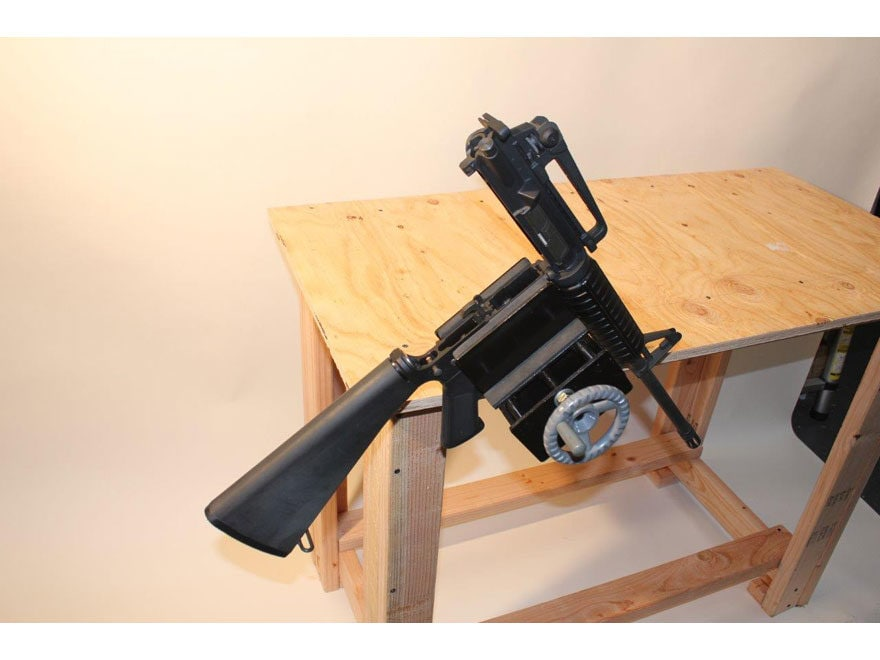 HySkore Bench Top 360 Armorer's Vise Metal Black