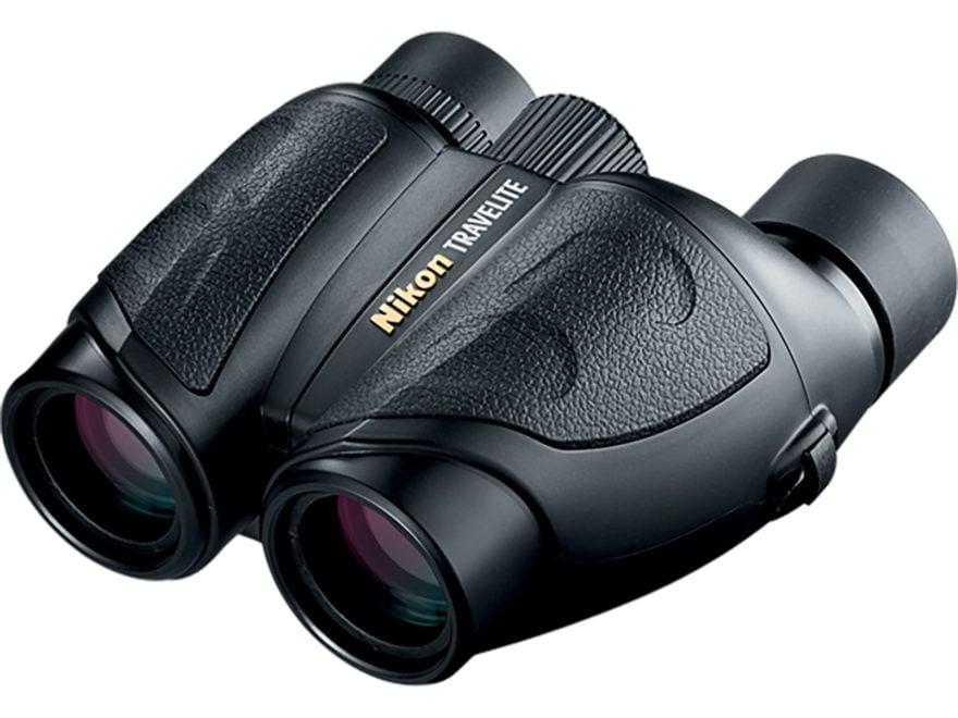 Nikon Travelite Binocular 25mm Porro Prism Black