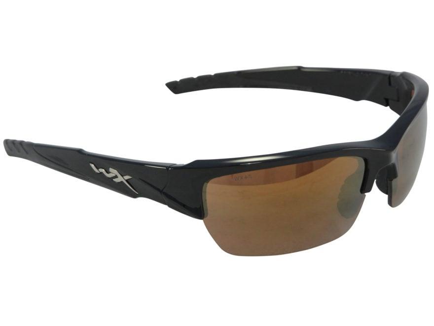 fcdd28ec15 Wiley X Black Ops WX Valor Sunglasses Bronze Flash Lens. Alternate Image