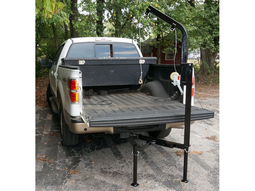 Viking Solutions Rack-Jack Magnum Hitch Mounted Game Hoist Steel Black
