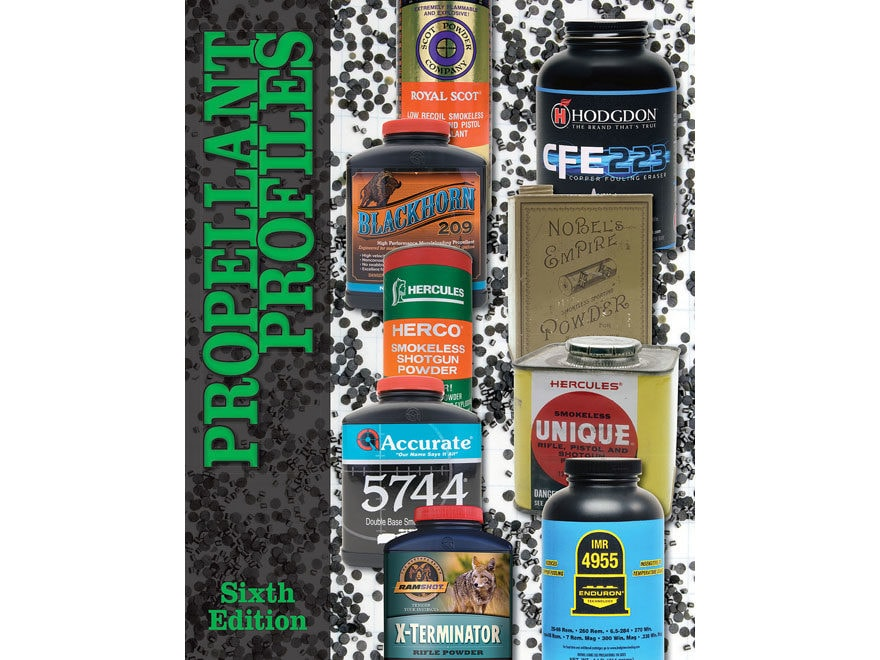 Propellant Profiles - Sixth Edition by Wolfe Publishing