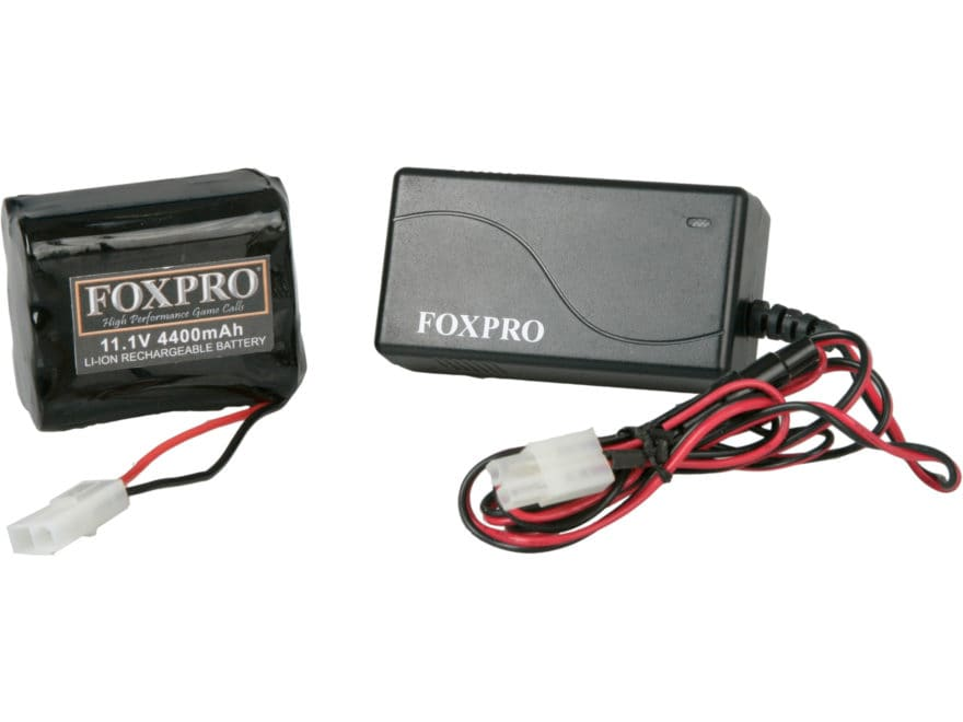 FoxPro Lithium 10 Fast Charger Battery Combo for Hellfire and Shockwave Calls