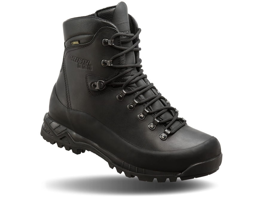 """Crispi Nevada Black GTX 8"""" GORE-TEX Tactical Boots Leather Men's"""