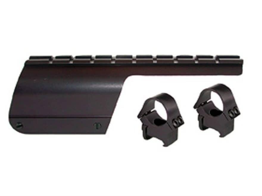 """B-Square Shotgun Saddle Mount with 1"""" Rings Benelli Nova 12 Gauge Matte"""
