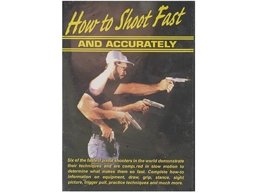 "Gun Video ""How to Shoot Fast and Accurately"" DVD"