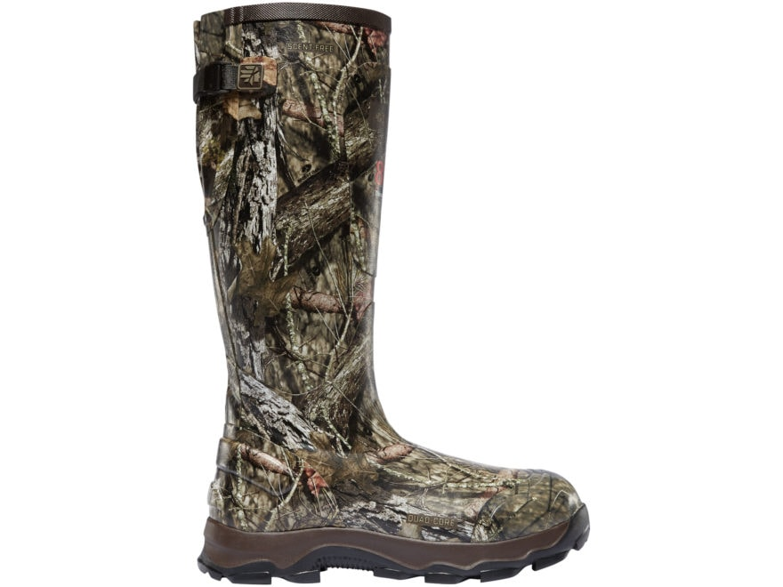 "LaCrosse 4XBurly 18"" Waterproof 800 Gram Insulated Hunting Boots Rubber Men's"