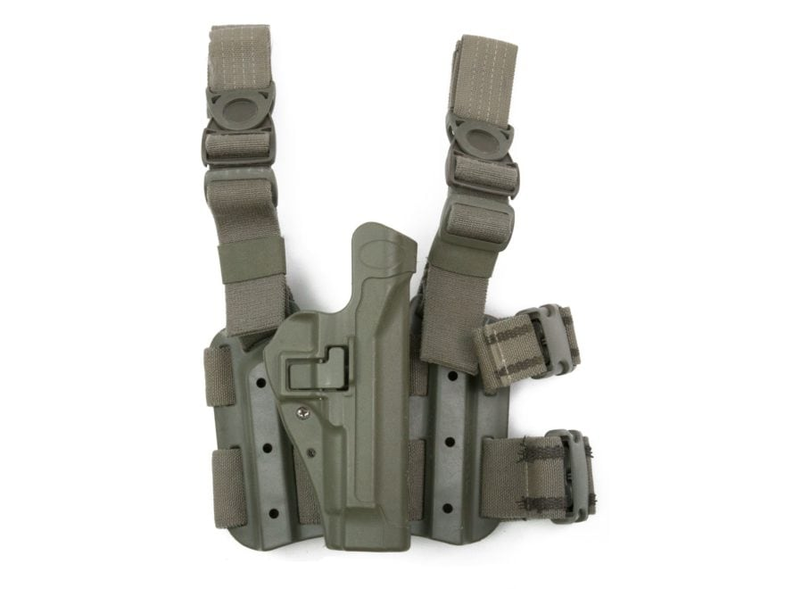 Military Surplus Thigh Holster Beretta M9, 92, 96 Polymer