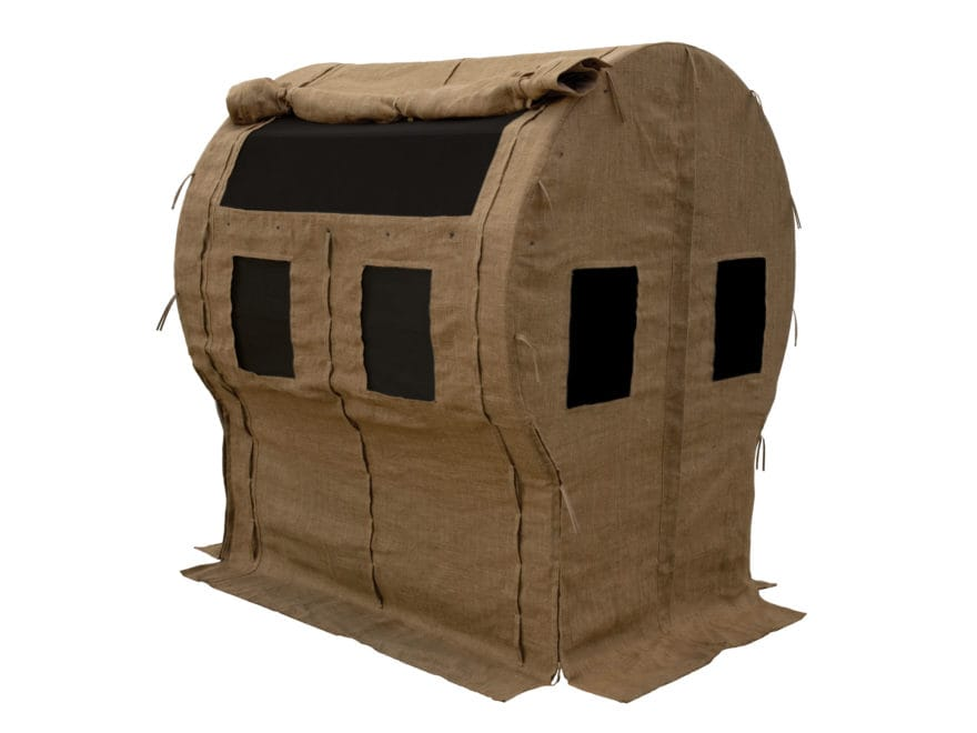 Muddy The Portable Bale Blind Ground Blind Steel and Fabric